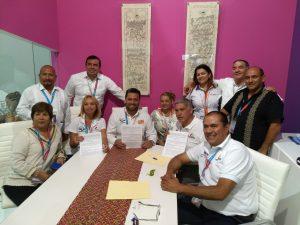 Firma de convenio Amav Guerrero  - Tepotzotlán