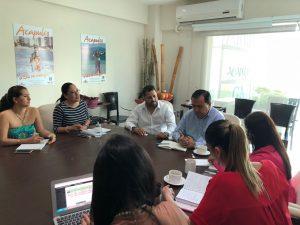 Se reúne presidente de Amav Guerrero con FIDETUR y Representantes de Aeromar.