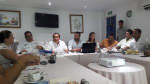 Reunión ordinaria correspondiente al mes de octubre de AMAV Guerrero con el Secretario de Turismo Municipal